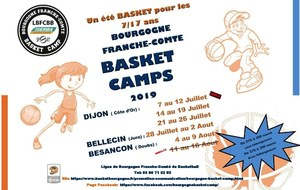 BASKET CAMPS 2019