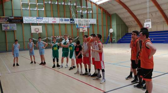 18/04/2019 : Tournoi Open Start 3X3 U15 Organisation CD21 Club support Nuits saint Georges